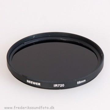 Neewer Infrarød 58mm filter IR 720
