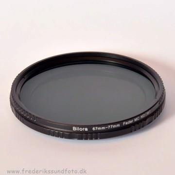 Bilora Vario ND 2x - 400x 58mm filter