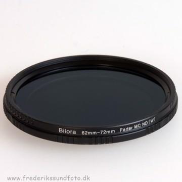 Bilora Vario ND 2x - 400x 62mm filter
