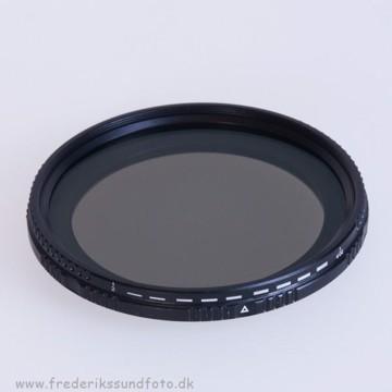 Bilora Vario ND 2x - 400x 67mm filter