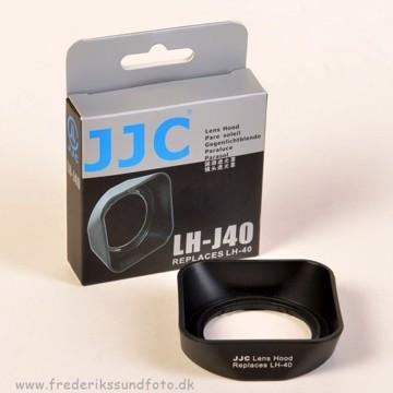 JJC LH-40 sort Modlysblænde t/Olympus