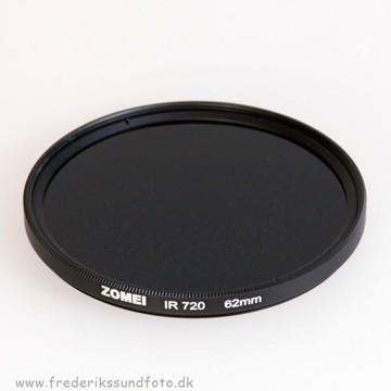 Zomei Infrarød 62mm filter IR 720