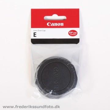 Canon Objektiv Bagdæksel E