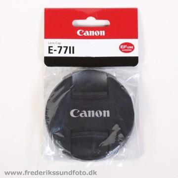 Canon 77mm Dæksel E-77II