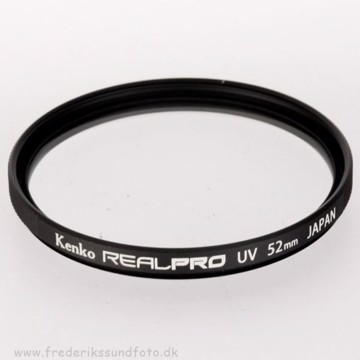 Kenko Real Pro UV filter 52mm
