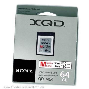 Sony 64GB XQD 2933X 440MBs QD-M64