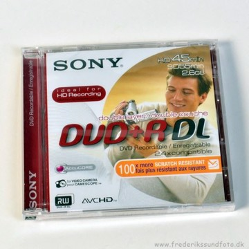 Sony DVD+R DL 2,6 GB SD 55/HD 45 Min