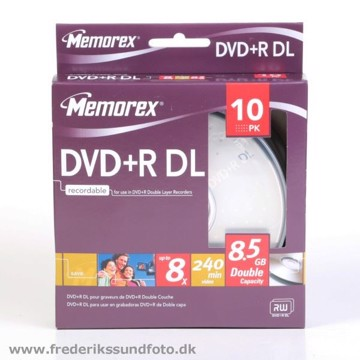Memorex DVD+R DL 8,5 GB