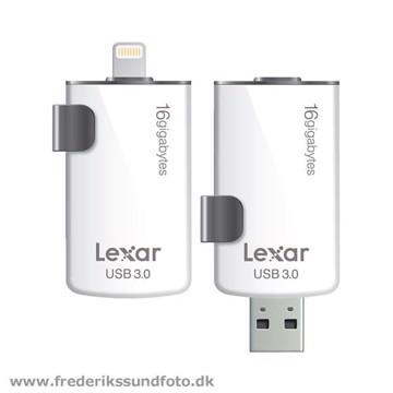 Lexar 16GB Jumpdrive M20I til Apple Lightning stik