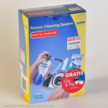 Dörr Sensor cleaning system