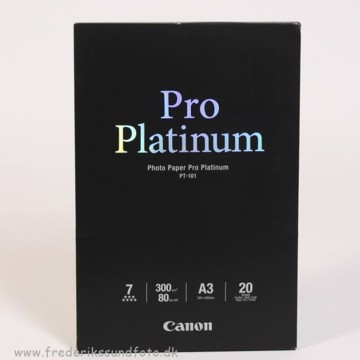 Canon A3 Pro Platinum Printerpapir PT-101 20 ark.