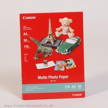 Canon A4 Mat Foto Printerpapir MP-101 50 ark.