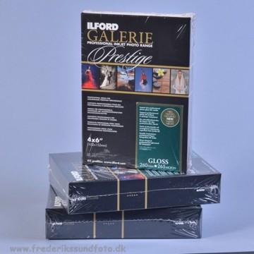 Ilford Galerie Prestige Gloss 10x15 260 g 100 ark