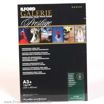 Ilford Galerie Prestige Gloss A3+ 260 g 25 ark
