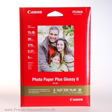 Canon 13x18 Glossy PP-201 Printerpapir 20 ark