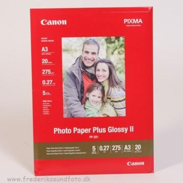 Canon A3 Glossy Foto Printerpapir PP-201 20 ark.