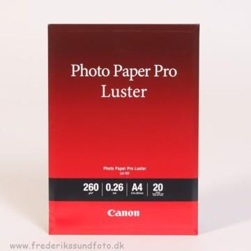 Canon A4 Luster Foto Printerpapir LU-101 20 ark.
