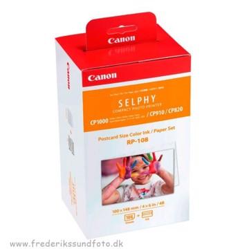 Canon Selphy RP-108 Papir til CP820 og nyere