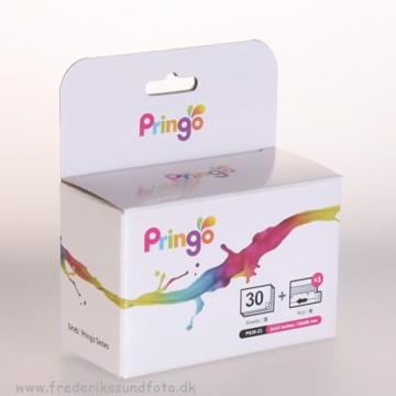 Hiti Pringo sølv papir & farve 30 print