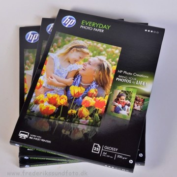 HP Everyday A4 Photo paper 25 ark