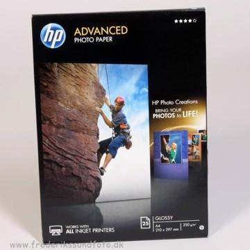 HP Advanced photo papir 250g.