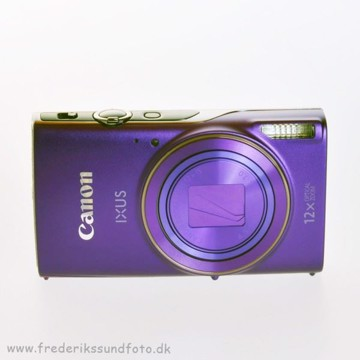Canon Ixus 285 HS Lilla m. etui og 16GB kort