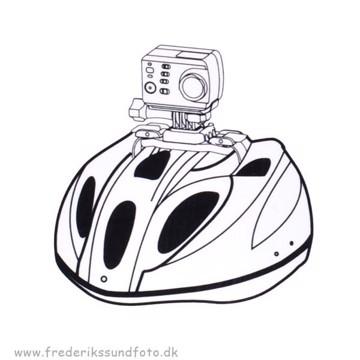 AEE BS20 Vented Helmet Strap til S-modeller