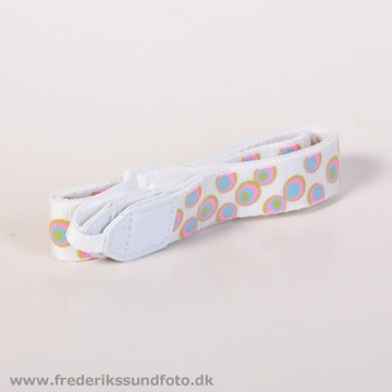 Instax neck strap white dots