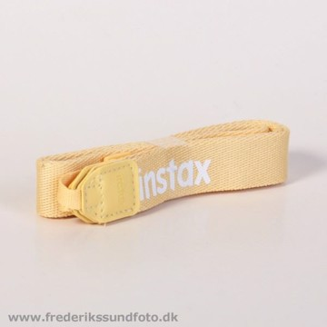 instax neck strap yellow
