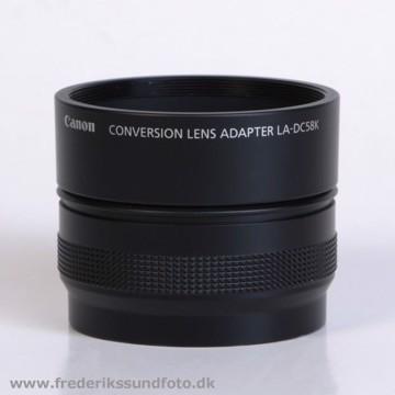 Canon LA-DC58K Objektiv adapter
