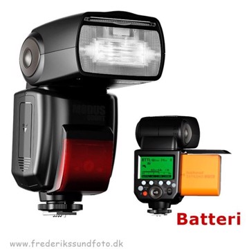 Hähnel Modus 600RT opladelig Speedlight til Canon