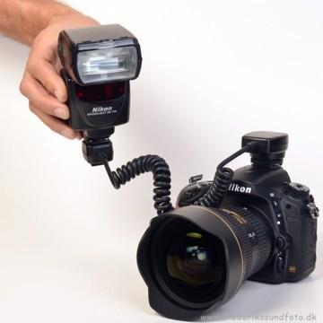 JJC Nikon TTL kabel FC-N3A til Nikon