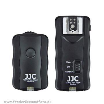 JJC JF-U1 Trådløs fjernbetjening og Flash Trigger