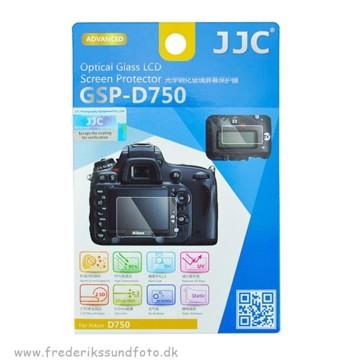 JJC Glass LCD beskyttelse til Nikon D750