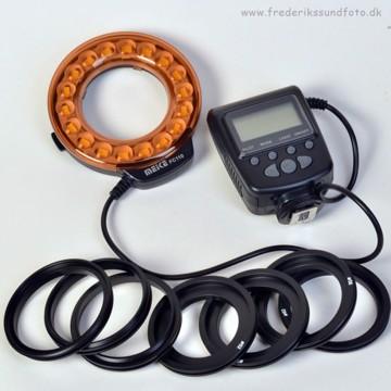 Meike MK-FC110 Macro LED lys