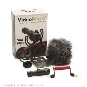RØDE VideoMicro on-camera microphone