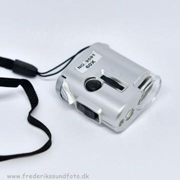 Lommemikroskop 60x (mini størrelse)