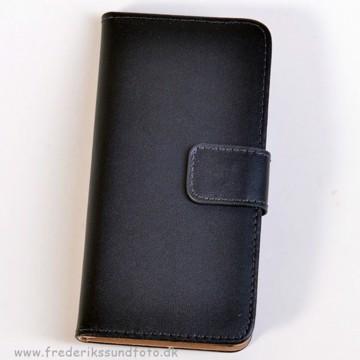 Iphone 6 Etui m/Magnetluk og Kreditkortlomme sort