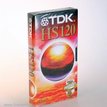 TDK VHS videobånd HS 120 min