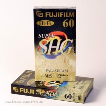 Fuji Super SHG Hi-Fi 60min VHS