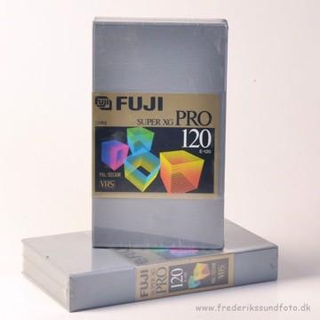 FUJI SUPER XG PRO VHS 120