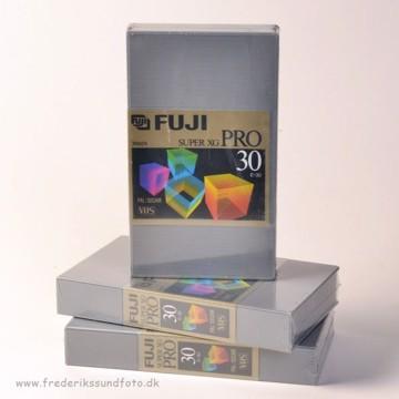 FUJI SUPER XG PRO VHS 30