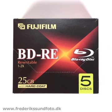 Fuji Blu-rayDisk BD-RE 1-2x 25GB 5 pak