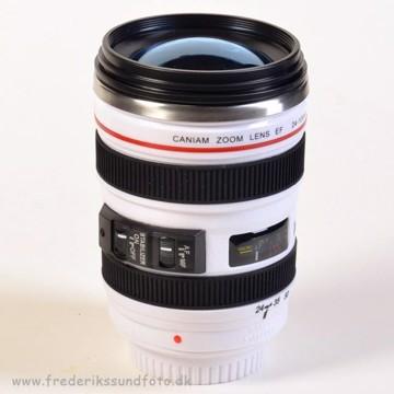 Caniam Zoom 24-105mm hvid kop m/metal termo