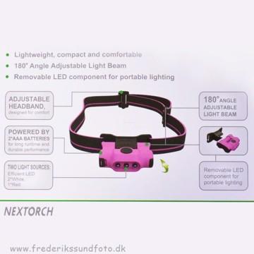 NexTorch EcoStar Pandelampe 30 Lumens Lilla