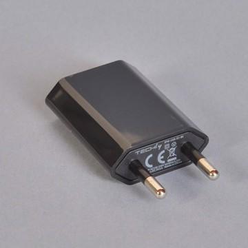 USB Ladestik DC 1000 mA Sort