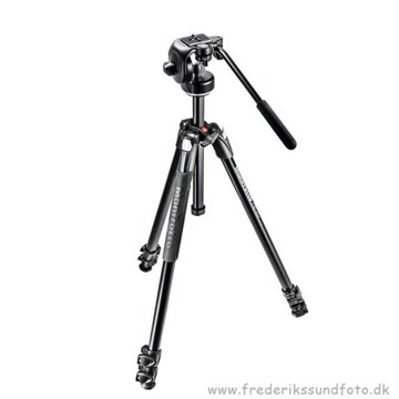 Manfrotto MK290XTA3-2W Fotostativ m/Videohovde