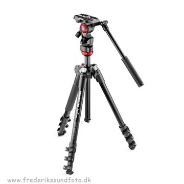 Manfrotto BeFree MVKBFR-LIVE m. videohoved
