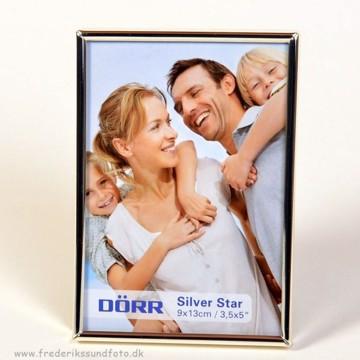 Silver star Toskana 9x13 sølv
