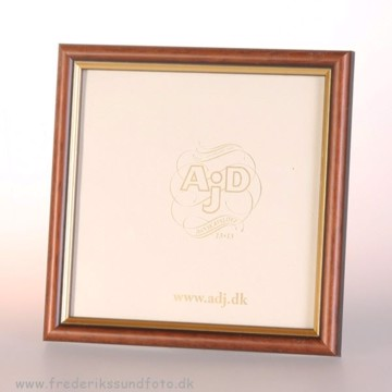 ADJ 3122 20X20 Ramme Brun/Guld